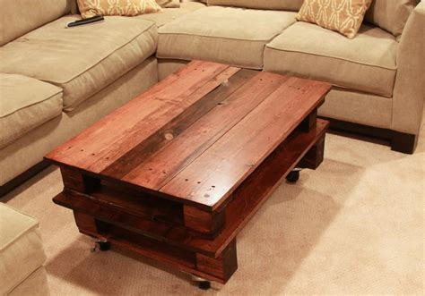 clever diy pallet coffee tables   living space