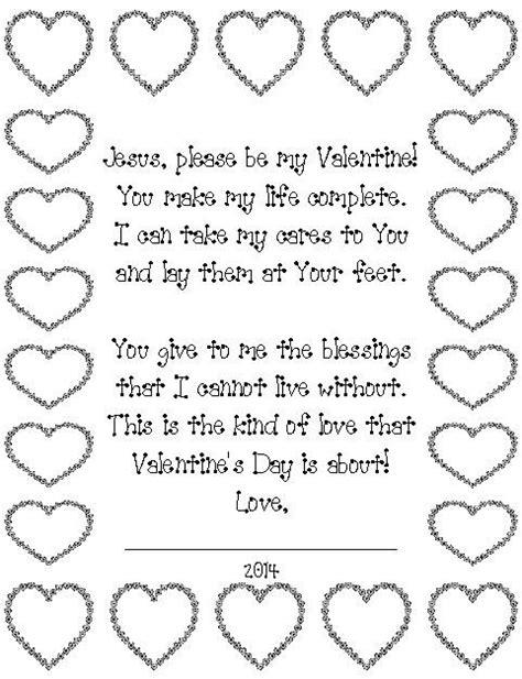 ~Valentine's Day poem for Jesus~ Kids can read the poem ...