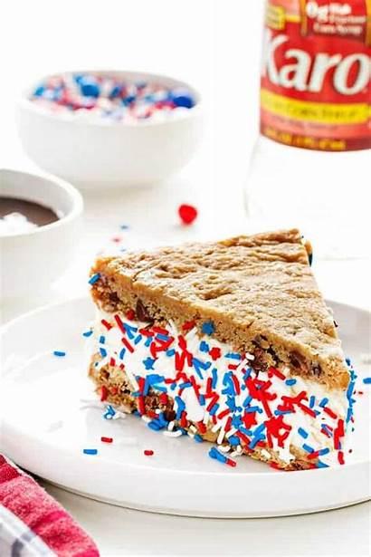 Cake Cookie Chocolate Chip Cream Ice Sandwich