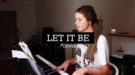 Let It Be (cover)  The Beatles Chords Chordify