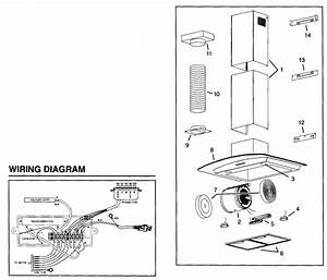 Broan Model B5736ss Range Hood Genuine Parts