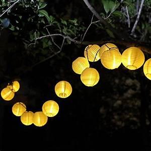 Solar Lichterkette Lampions : lampion lichterkette solar 6 meter mit 30 leds ~ Buech-reservation.com Haus und Dekorationen