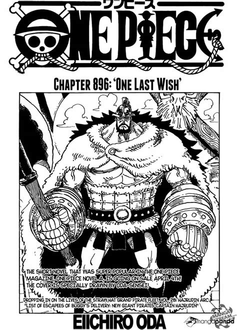 One Piece 896 - Read One Piece 896 Online - Page 1