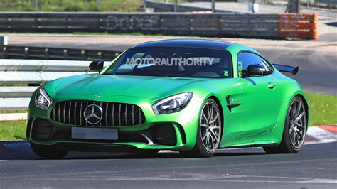 mercedes amg gt black series spy shots  video
