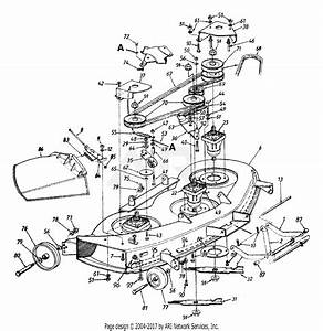 Mtd 14au845h062  1999  Parts Diagram For Deck Assembly H