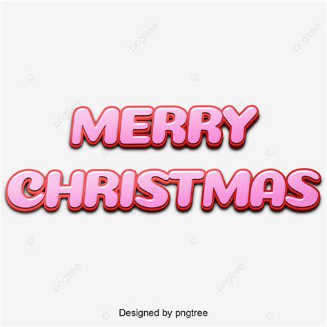 merry christmas english alphabet art character element