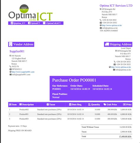 professional report template professional report templates odoo apps