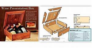 Wine Presentation Box Plans • WoodArchivist