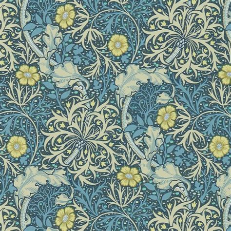 William Morris Wallcovering | Morris Seaweed Wallpaper in ...