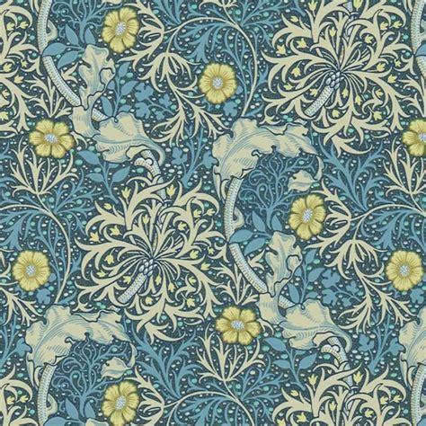 contemporary curtain fabrics william morris wallcovering morris seaweed wallpaper in