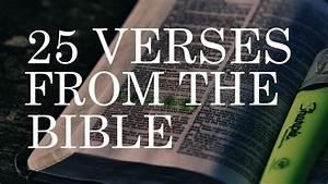 25 Famous Bible... Bible Verses