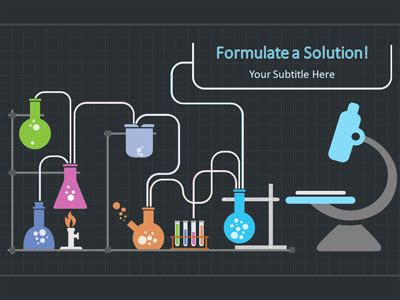 scientist science experiments  powerpoint template