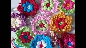 Blume Aus Frühstückstüten : blume h keln tutorial bl ten crochet flower puff stich ~ Watch28wear.com Haus und Dekorationen