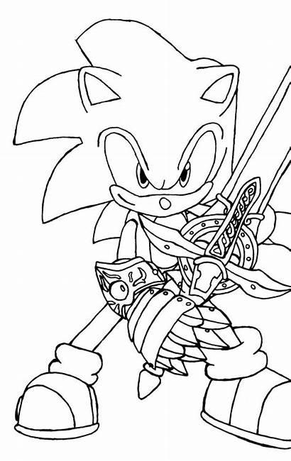 Coloring Sonic Easy Printable Artykuł Coloringfolder