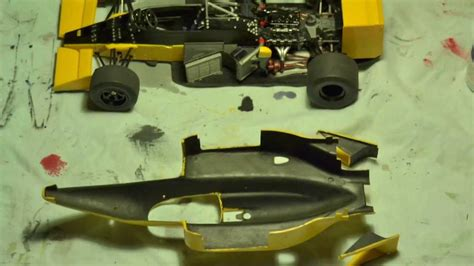Ayrton Senna's Lotus - stop motion film - YouTube