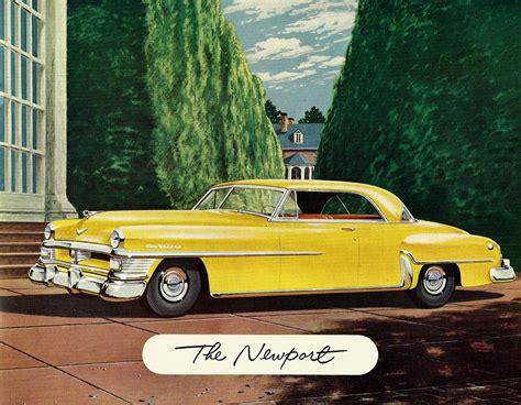 1952 Chrysler New Yorker by All American сlassic сars 1952 Chrysler New Yorker 2
