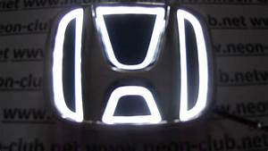 Honda parts & accessories - car led logo for New Fit ...