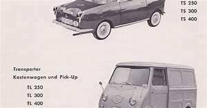 Bz U0026 39 S Bmw Isetta 300 U0026 39 S  Goggomobil T Ts Tl Parts Diagrams