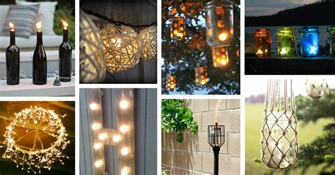 25 best diy outdoor lighting ideas and designs for 2019