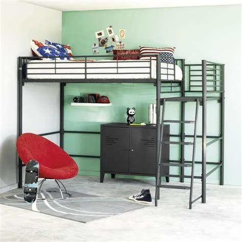 lit mezzanine avec armoire et bureau lit mezzanine avec bureau pas cher stunning lit mezzanine