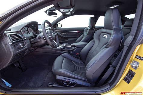 bmw m4 interior 2015 bmw m4 coupe review gtspirit