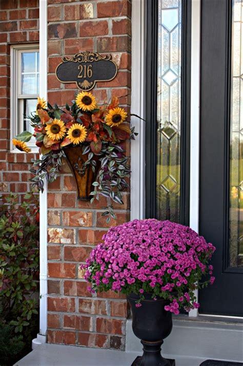 front porch autumn decorating ideas fall decorating paperandlacecrafts