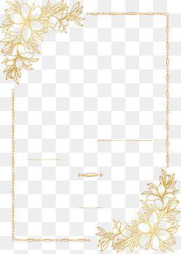vector pnggold papergolden patternhand drawn pattern