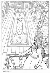Perspective Drawing Coloring Barbie Pages Google Books Sketch Sketches Ausmalbilder sketch template