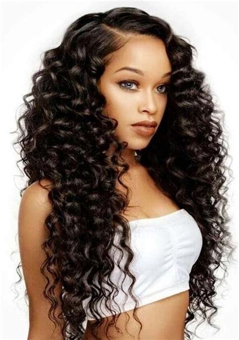 Weave Hairstyles For American by 20 Best American Weave Hairstyles In 2018 Typesvogue