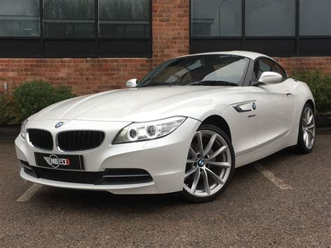 White Bmw For Sale by Used White Bmw Z4 For Sale Leicestershire