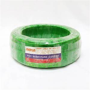 Merlin Pure Copper 4mm  7  0 85mm  Pvc Insulated Non