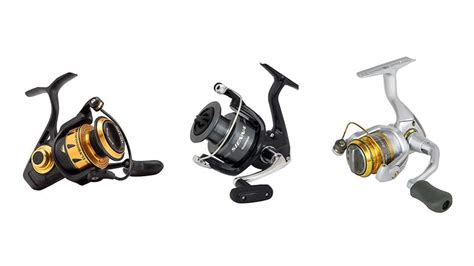 spinning reels  freshwater fishing