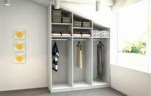 Begehbarer Kleiderschrank Regale : kleiderschrank unter schr gen meine m belmanufaktur ~ Sanjose-hotels-ca.com Haus und Dekorationen