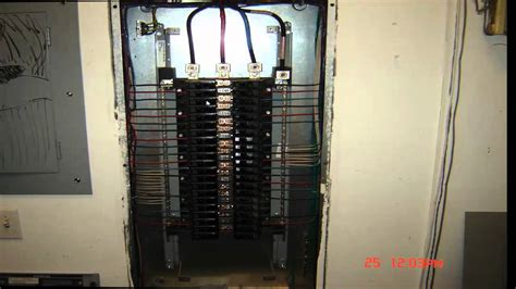 electrical wiring  phase panel detail youtube