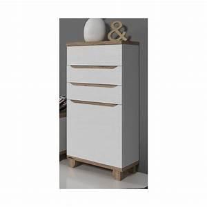 Meuble Style Scandinave : meuble colonne lier style scandinave ~ Teatrodelosmanantiales.com Idées de Décoration