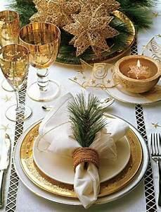 Decoration De Noel Table : la d coration de table pour no l plaisir et style ~ Melissatoandfro.com Idées de Décoration
