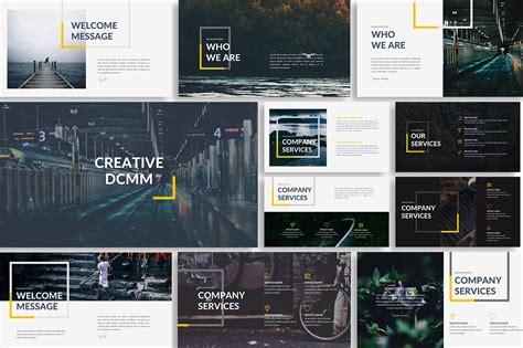 dcmm creative powerpoint template