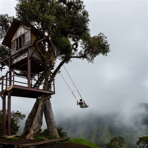 casas del arbol earth pics on twitter quot swing on the edge of the world at