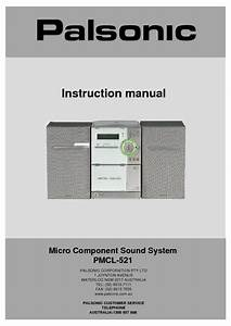 Pmcl-521 Manuals