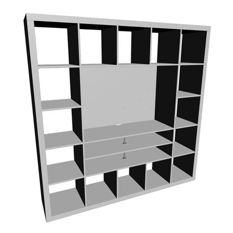 Ikea Tv Möbel Weiss by Expedit Tv M 246 Bel Wei 223 Einrichten Planen In 3d