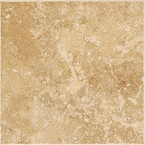 tuscany home depot daltile tuscany 6 1 2 in x 6 1 2 in gold porcelain floor and wall tile mr1166hd1p6 the home