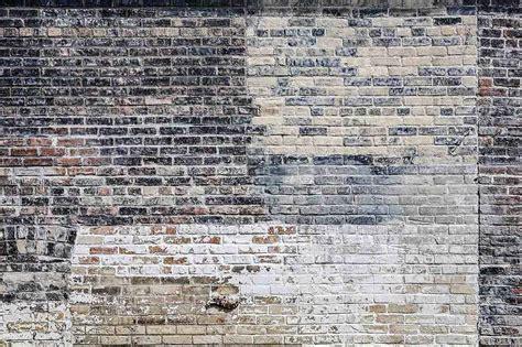 Wallpaper Mural Old Multi Colored Brick Wall Muralunique
