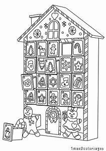 Calendrier De L Avent Maison : une maison de no l en calendrier de l 39 avent d corer ~ Preciouscoupons.com Idées de Décoration