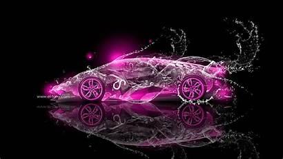 Lamborghini Neon Water Egoista Purple Tony Wallpapers