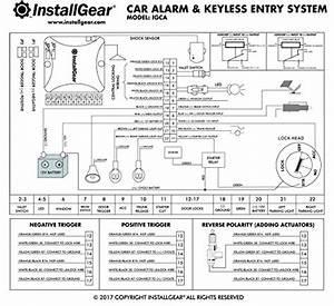Installgear Car Alarm Security  U0026 Keyless Entry System