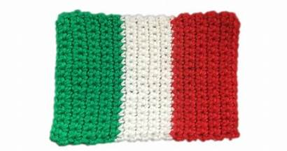 Flag Italy Crochet Patterns Pattern