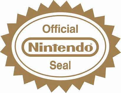Nintendo Svg Seal Official Pixels Wikimedia Commons