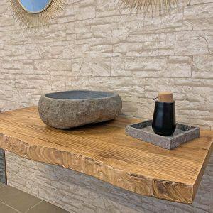mensole per lavabo da appoggio prezzi mensole e piani lavabo in legno artigianali xlab design