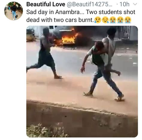 Two Students Shot Dead During Attack On A Bank In Anambra ...