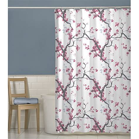 cherry blossom bathroom decor pretty cherry blossom shower curtain
